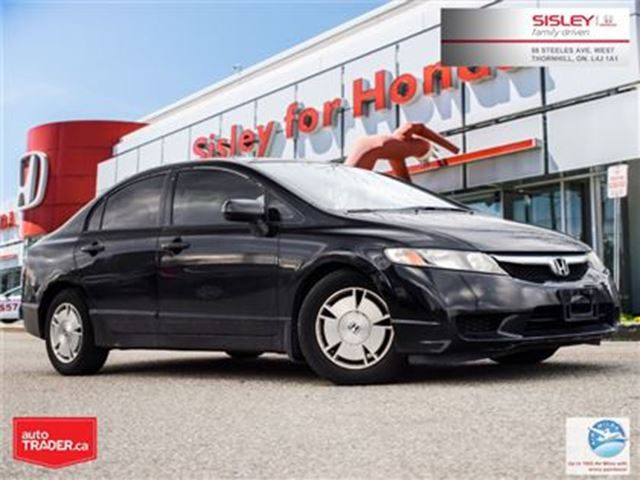 2010 HONDA Civic DX-G - Ontario Vehicle, Excellent Condition in Thornhill, Ontario