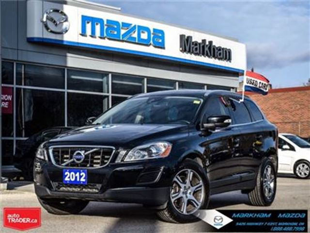 2012 VOLVO XC60 T6 R-Design LEATHER PANO ROOF AWD in Markham, Ontario