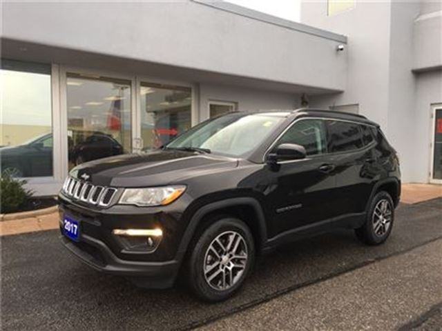 2017 JEEP COMPASS North HEATED FRONT SEATS in Simcoe, Ontario