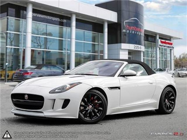 2017 JAGUAR F-TYPE CONVERTIBLE   RWD   LEATHER   NAVI in Mississauga, Ontario