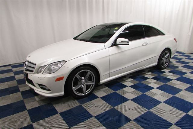2010 MERCEDES-BENZ E-CLASS E550/REAR CAM/SUNROOF/NAV/LEATHER in Winnipeg, Manitoba
