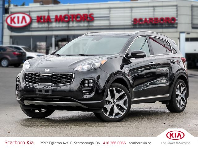 2017 KIA SPORTAGE SX in Scarborough, Ontario