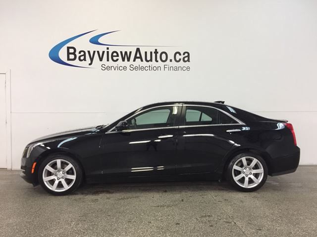 2015 CADILLAC ATS - 2.5L|ALLOYS|HTD LTHR|BOSE|BLUTOOTH|DUAL CLIMATE! in Belleville, Ontario