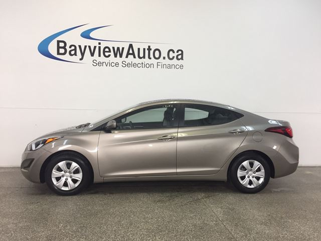 2016 HYUNDAI Elantra L- 1.8L|AUTO|ECO MODE|A/C|PWR GROUP! in Belleville, Ontario