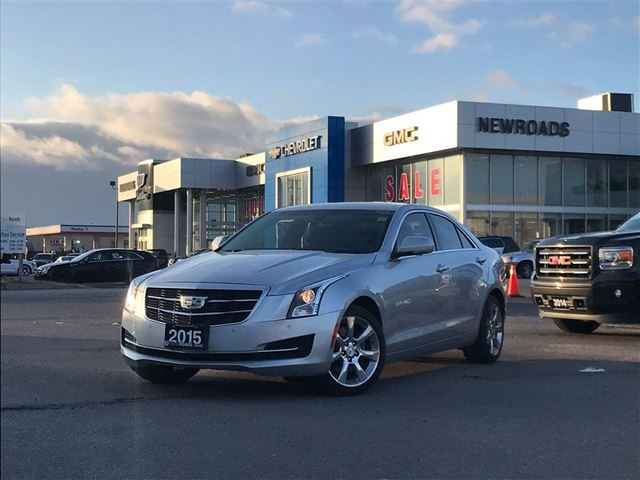 2015 CADILLAC ATS 2.0L Turbo Luxury 2.0L Turbo Luxury, Nav, One Owner, No Accidents in Newmarket, Ontario
