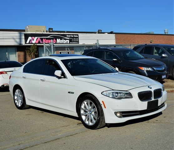 2013 BMW 5 Series XDrive NO ACCIDENTS Fully Loaded Navi