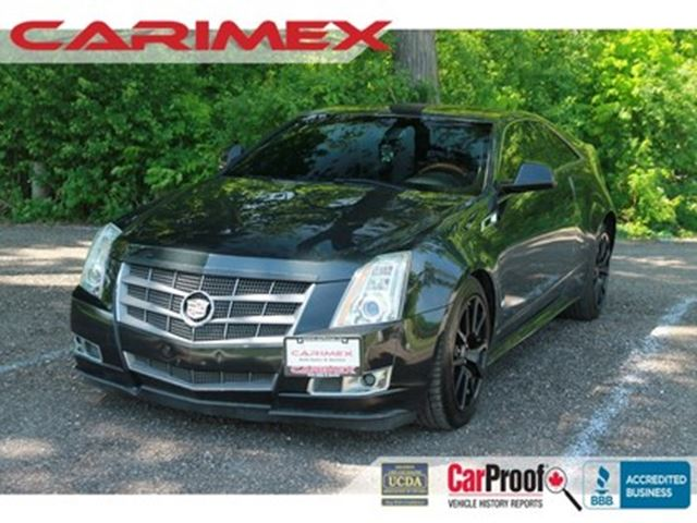 2011 CADILLAC CTS Base AWD    3.6L   NAVI   CERTIFIED in Kitchener, Ontario