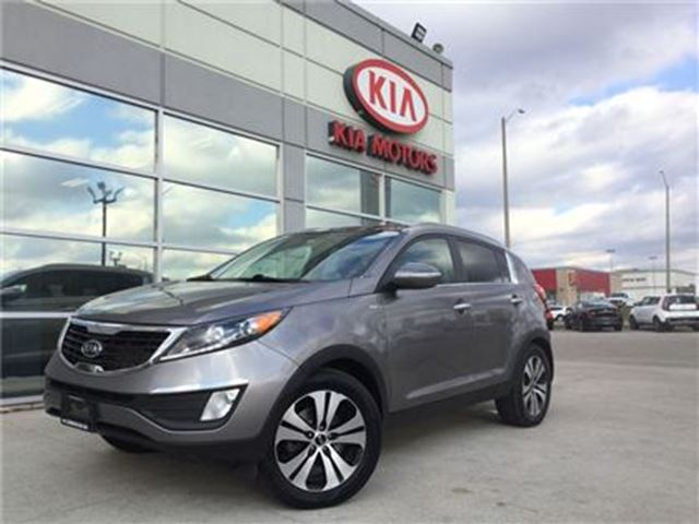2012 KIA SPORTAGE EX AWD KIA CERTIFIED PRE-OWNED in Cambridge, Ontario