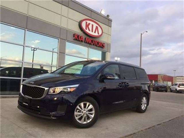 2018 KIA SEDONA LX+ KIA CERTIFIED PRE-OWNED in Cambridge, Ontario
