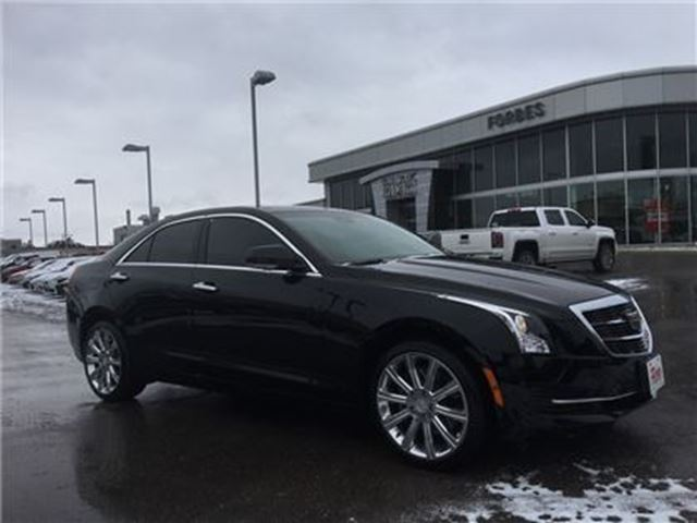 2017 CADILLAC ATS Luxury \ 1 OWNER \ WHY BUY NEW? \ AWD \ in Waterloo, Ontario