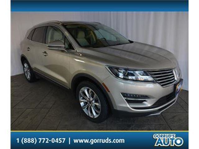 2015 LINCOLN MKC AWD/ECOBOOST/HEATED LEATHER/NAV/CAMERA/BLUETOOTH in Milton, Ontario