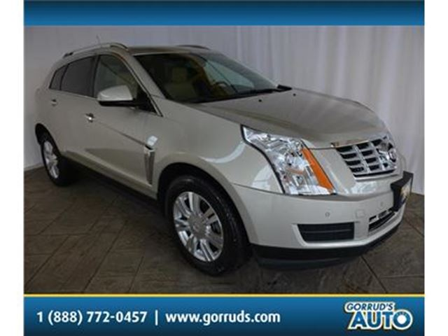 2014 CADILLAC SRX LUXURY/HEATED LEATHER/PANO ROOF/CAMERA/ALLOY RIMS in Milton, Ontario