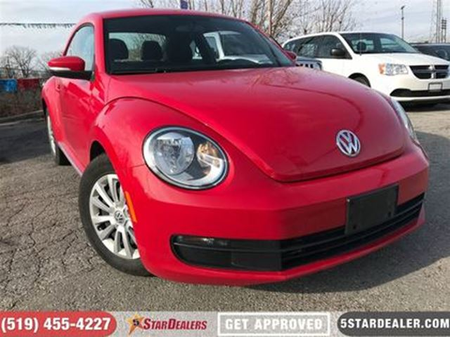 2016 VOLKSWAGEN NEW BEETLE  1.8 TSI Comfortline   ONE OWNER   CAM   HTD SEATS in London, Ontario
