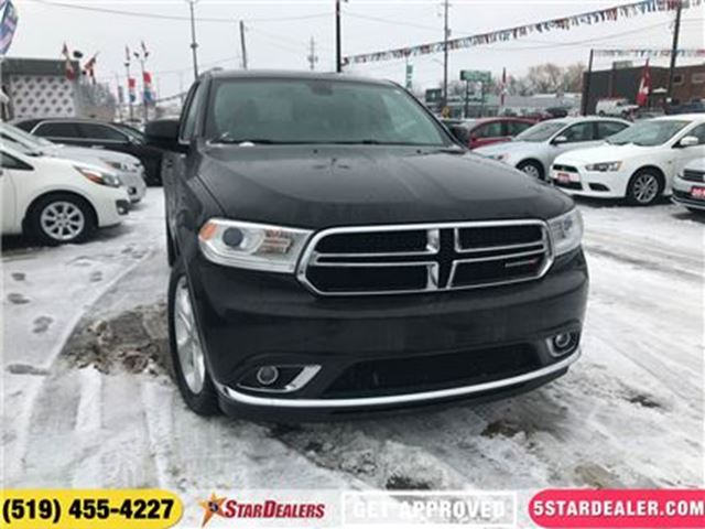 2014 DODGE DURANGO SXT   AWD   7PASS   HEATED SEATS in London, Ontario