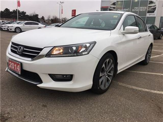 2014 HONDA Accord  Sport l Rear-view Camera l One Owner in Mississauga, Ontario