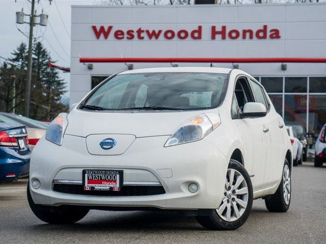 2013 NISSAN LEAF S in Port Moody, British Columbia