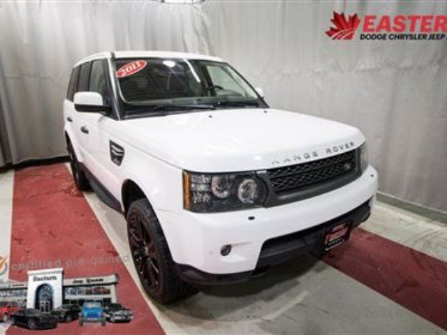 2011 LAND ROVER RANGE ROVER Sport HSE LUXURY SUV LOADED LEATHER BACK UP CAM in Winnipeg, Manitoba