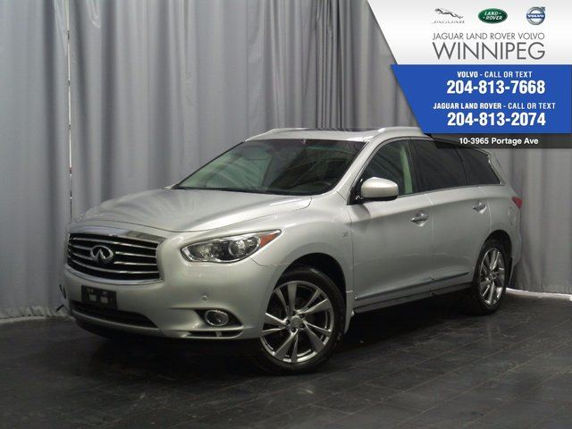 2014 INFINITI QX60 AWD 4dr *7 PASS LUXURY* *DVD SYSTEM* in Winnipeg, Manitoba