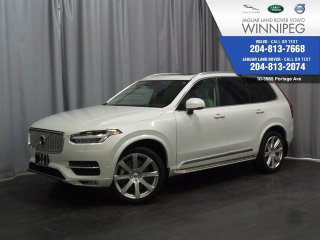 2016 VOLVO XC90 T6 Inscription *THIS IS A RARE OPPORTUNITY* in Winnipeg, Manitoba