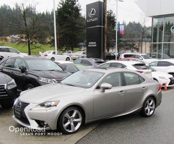 2015 LEXUS IS 350 Executive Package - Navigation - Blind Spot Mon in Port Moody, British Columbia
