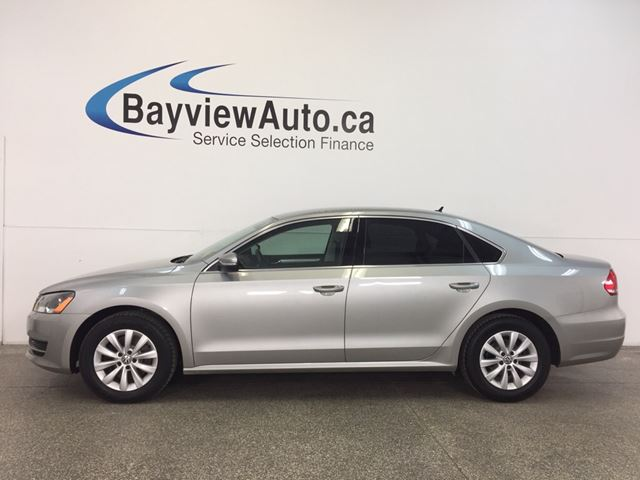 2014 VOLKSWAGEN PASSAT TRENDLINE- TURBO|ALLOYS|HTD STS|BLUETOOTH|CRUISE! in Belleville, Ontario