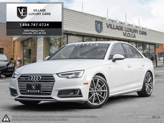 2017 AUDI A4 2.0T Technik S LINE | ADAPTIVE CRUISE | BANG & O SOUND | NAVIGATION in Markham, Ontario