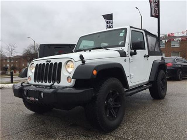 2014 JEEP WRANGLER Sport**LOW KMS**CRUISE**AUDIO INPUT** in Mississauga, Ontario