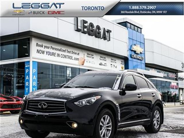 2012 INFINITI FX35 LEATHER HEATED & COOLED SEATS/MOONROOF/AWD in Rexdale, Ontario