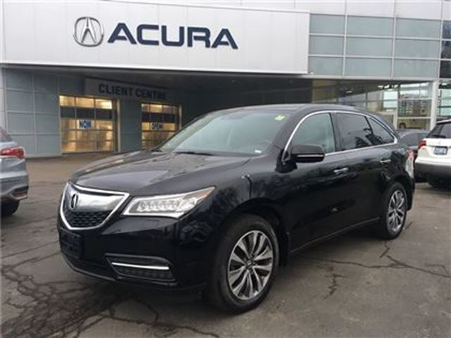 2014 ACURA MDX NAVI   OFFLEASE   7PASSENGER   2.9%   1OWNER in Burlington, Ontario