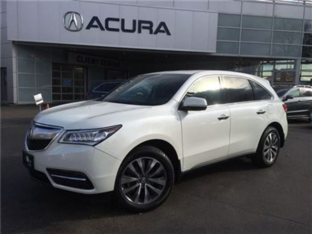 2015 ACURA MDX TECH   NAVI   DVD   OFFLEASE   2.9%   ONLY52000KMS in Burlington, Ontario