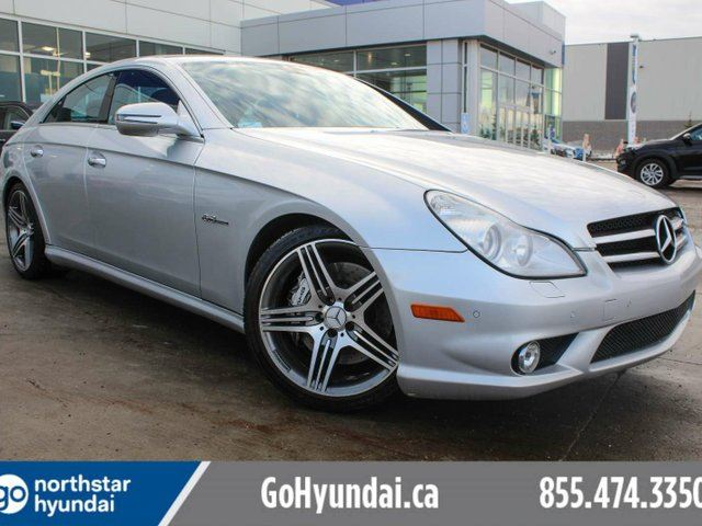 2009 MERCEDES-BENZ CLS-CLASS AMG/507HP/AIRMATIC SUSPENSION/LOW KM/ NO ACCIDENTS/COOLED SEATS in Edmonton, Alberta