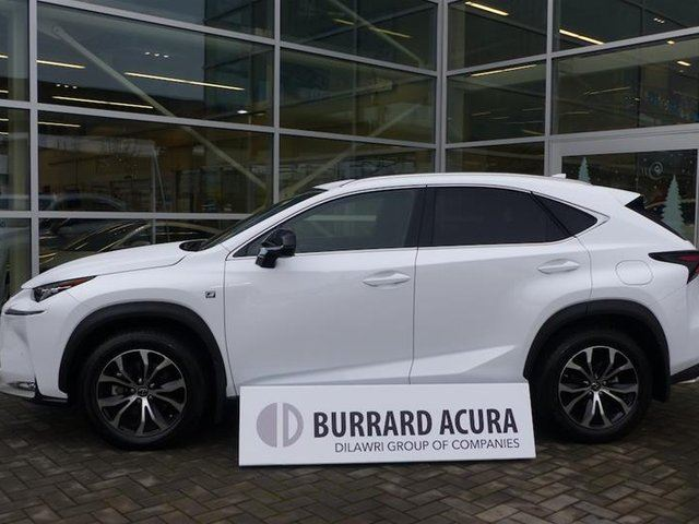 2017 LEXUS NX 200T 6A in Vancouver, British Columbia