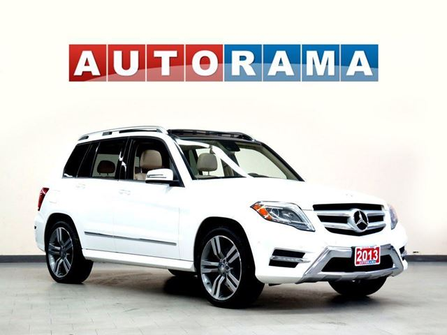 2013 Mercedes-Benz GLK-Class GLK350 NAVIGATION LEATHER PANORAMIC SUNROOF 4WD BACKUP CA in North York, Ontario