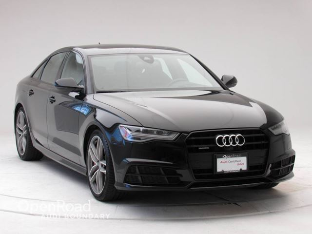 2017 AUDI A6 4dr Sdn quattro 3.0T Competition Package  NAVIG in Vancouver, British Columbia
