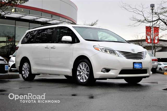 2015 TOYOTA Sienna XLE LIMITED AWD in Richmond, British Columbia