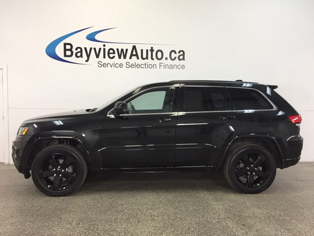 2015 JEEP GRAND CHEROKEE LAREDO- 4x4|REM STRT|ROOF|HTD STS|NAV|PWR TRUNK! in Belleville, Ontario