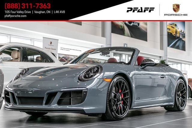 2017 PORSCHE 911 Carrera 4 GTS Cabriolet PDK in Woodbridge, Ontario