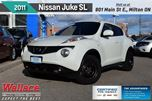 2011 Nissan Juke SL/SUNROOF/MOONROOF/HTD SEATS/17s/FOGS/PSH BUTTN in Milton, Ontario