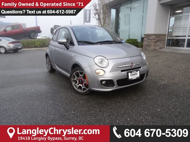 2015 FIAT 500 Sport *ACCIDENT FREE*ONE OWNER*LOCAL BC CAR* in Surrey, British Columbia