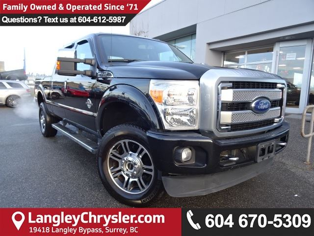 2016 FORD F-350 *ACCIDENT FREE*ONE OWNER*LOCAL BC TRUCK* in Surrey, British Columbia