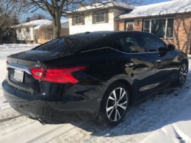 2017 Nissan Maxima Sv Black Lease Busters Wheels Ca
