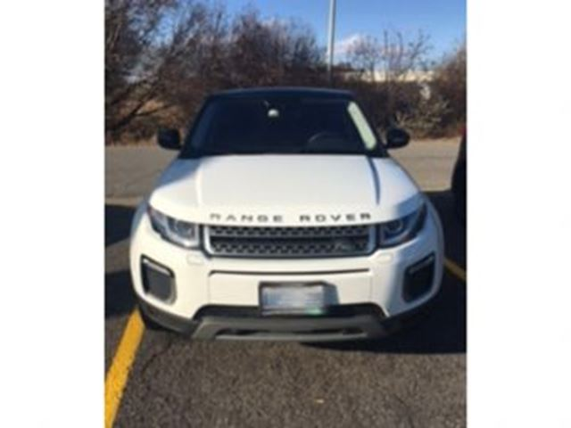 2017 LAND ROVER RANGE ROVER EVOQUE SE  AWD in Mississauga, Ontario