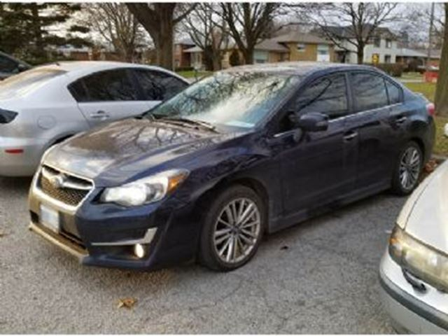 2015 SUBARU IMPREZA LIMITED PKG 5SP MANUAL in Mississauga, Ontario