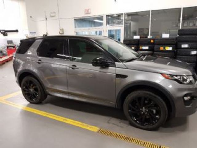 2017 LAND ROVER DISCOVERY Discovery Sport HSE Luxury in Mississauga, Ontario