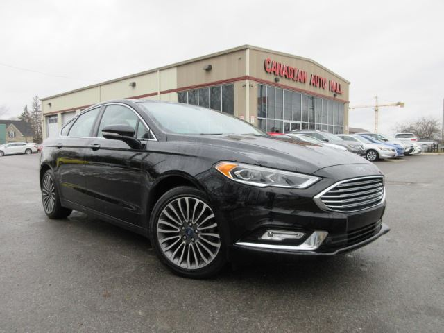 2017 FORD Fusion SE AWD, NAV, ROOF, LEATHER, 38K! in Stittsville, Ontario