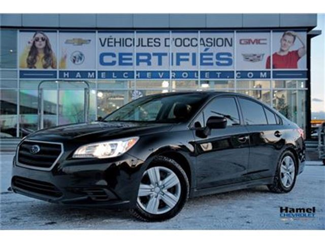 2015 SUBARU LEGACY AWD (4X4) + SIEGES CHAUFFANTS in Montreal, Quebec