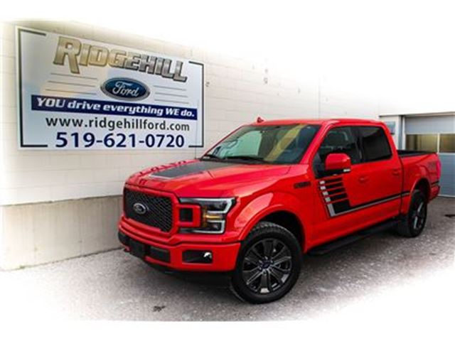 2018 FORD F-150 Lariat  NAV  PANO ROOF  SPORT LEATHER INTERIOR in Cambridge, Ontario