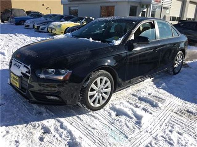 2013 AUDI A4 2.0T, Auto, Leather, Sunroof, Only 86, 000km in Burlington, Ontario