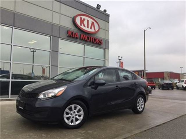 2015 KIA RIO LX+ **KIA CERTIFIED PRE-OWNED** in Cambridge, Ontario