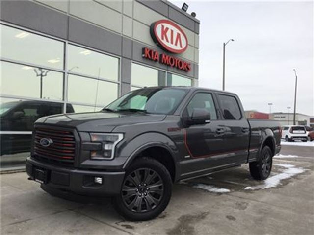 2016 FORD F-150 Lariat Sport Special Edition NAV LOADED in Cambridge, Ontario